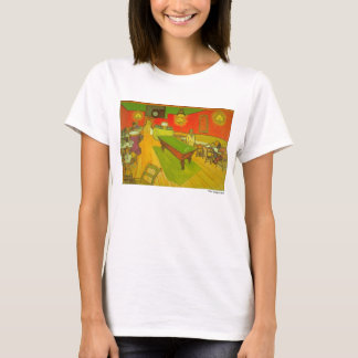 """Vans Gogh T-tröja """"för nattCafe"""" Tröjor"""