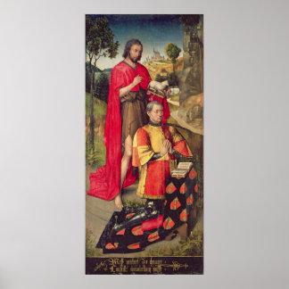 Vänster panel, från den huvudsakliga altarepolypty poster