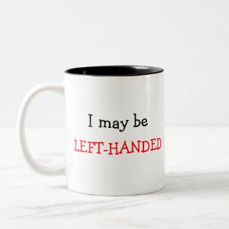 Vänsterhänt mugg
