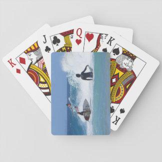 Vänta en vinka spelkort