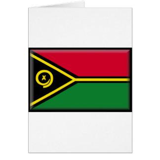 Vanuatisk flagga hälsningskort