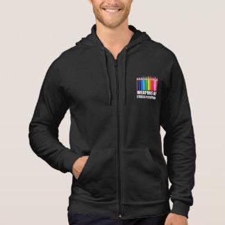 Vapen av färgläggningen för spänningsförminskning hoodie