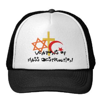 Vapen av samlas förstörelse baseball hat