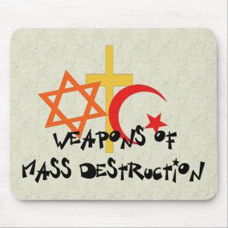 Vapen av samlas förstörelse musmatta