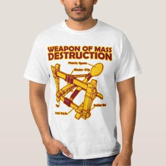 Vapen av samlas förstörelse tee shirt