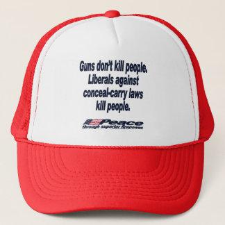 Vapen dödar inte folk hatt truckerkeps