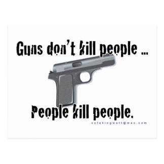 Vapen dödar inte vykort