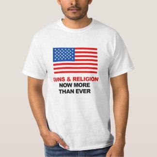 VAPEN OCH RELIGION NU MER ÄN NÅGONSIN T-SHIRT