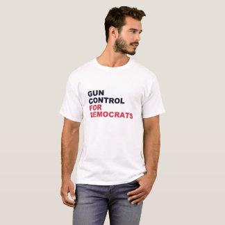 Vapenkontroll för demokrater t shirt