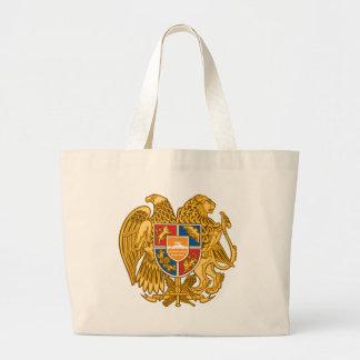 Vapensköld av Armenien - armenisk Emblem Jumbo Tygkasse