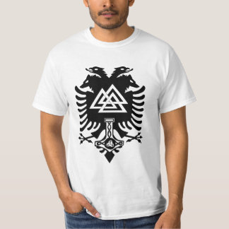 Vapensköld av den Odin skjortan T Shirts