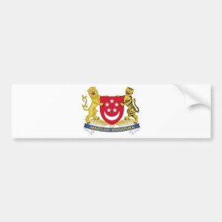 Vapensköld av den Singapore 新加坡国徽emblemen Bildekal