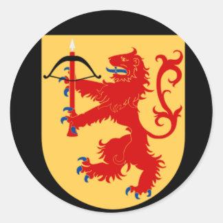 vapensköld av den Småland klistermärken