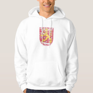 Vapensköld av Finland Sweatshirt Med Luva