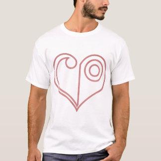 Vapensköld av kärlekKÄRLEKSYMBOLET T Shirt