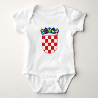 Vapensköld av Kroatien T-shirt