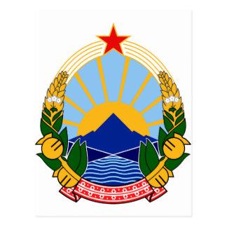 Vapensköld av SR Makedonien Vykort