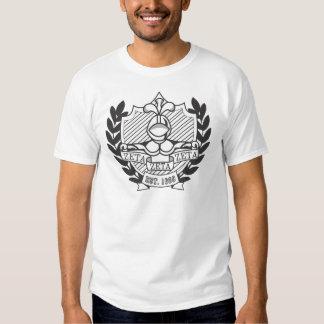 Vapensköld för broderskap för ZetaZetaZeta - B&W Tee Shirts