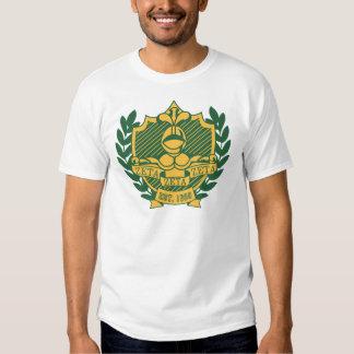 Vapensköld för broderskap för ZetaZetaZeta - färg T-shirt