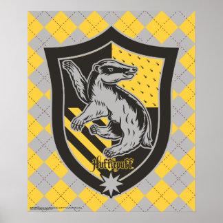 Vapensköld för Harry Potter | Hufflepuff huspride Poster