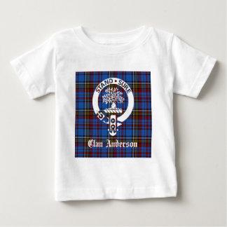 Vapensköld för klananderssonTartan T Shirt