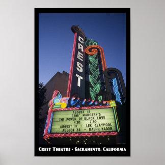 VapensköldTheatre, Sacramento 11x17 affisch Poster