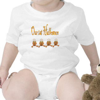 Vår 1st HALLOWEEN QUADRUPLETS T Shirt