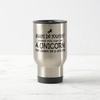 Var alltid dig, om inte du kan vara en Unicorn Resemugg