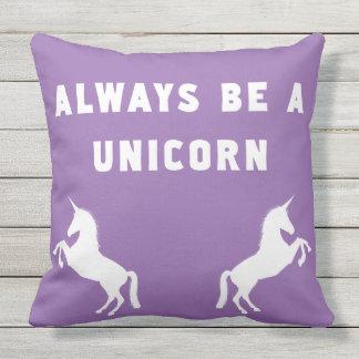 Var alltid en Unicorn Kudde