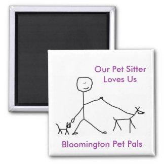 Vår älsklings- barnvakt älskar oss magnet