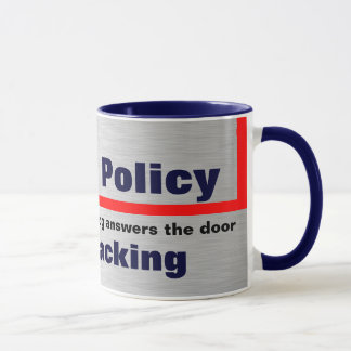 Vår älsklings- politik mugg