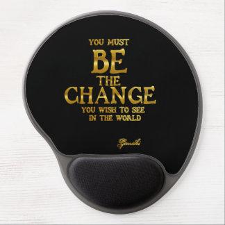 Var ändringen - Gandhi inspirera Gel Musmatta