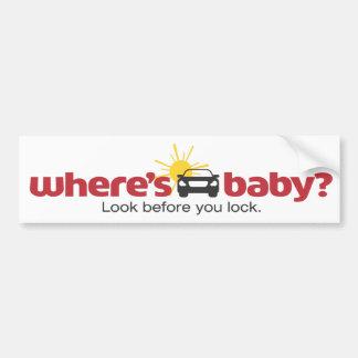 Var är babylooken, för du låser bildekal