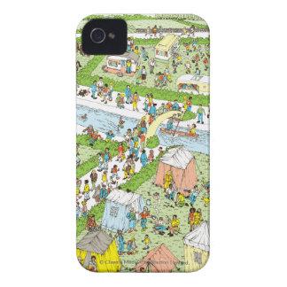 Var är den Waldo campingplatsen iPhone 4 Case