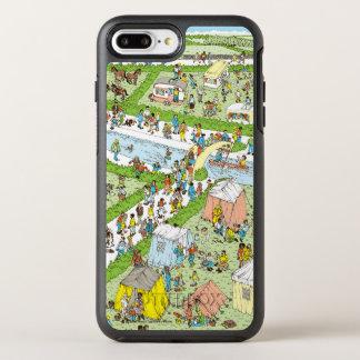Var är den Waldo campingplatsen OtterBox Symmetry iPhone 7 Plus Skal