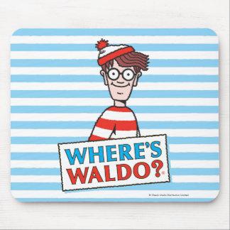 Var är den Waldo logotypen Musmatta