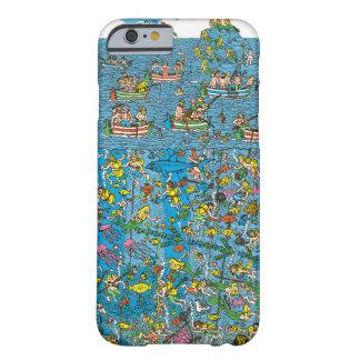 Var är dykare Waldo för det djupa havet Barely There iPhone 6 Skal