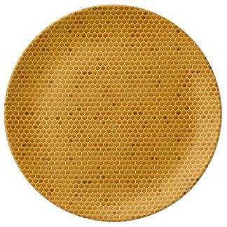 Var är min honung porslinstallrik