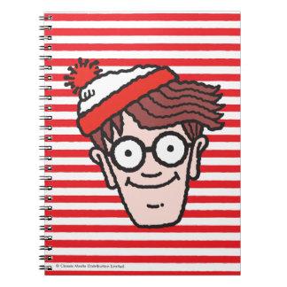Var är Waldo ansikte Anteckningsbok