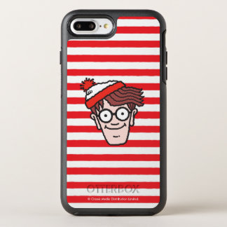 Var är Waldo ansikte OtterBox Symmetry iPhone 7 Plus Skal