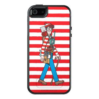 Var är Waldo med all hans utrustning OtterBox iPhone 5/5s/SE Skal