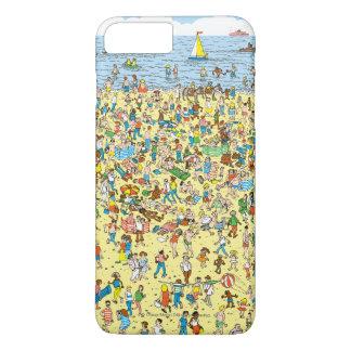 Var är Waldo på stranden