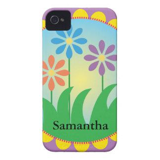 Vår blommor iPhone 4 Case-Mate skydd