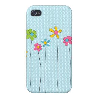 Vår blommor iPhone 4 hud