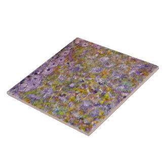 Vår blommor kakelplatta