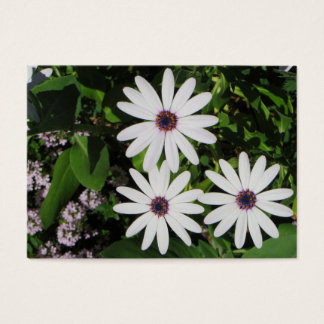 Vår blommor visitkort