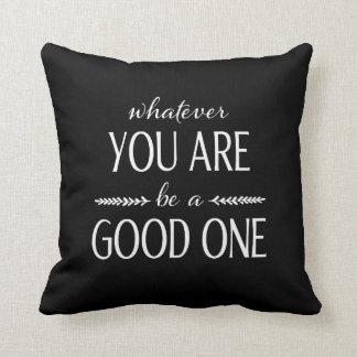 Var bra - inspirera kudde