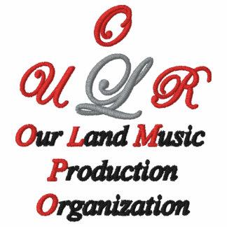 Vår broderade skjorta för landmusik anpassningsbar