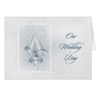 Vår bröllopsdag - TBA Hälsningskort