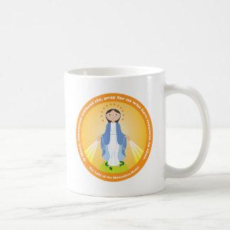 Vår dam av den mirakulösa medaljen kaffemugg
